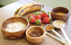 Banana Almond Milk Porridge