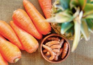 Pineapple Carrot Turmeric Anti Inflammatory Juice